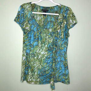 INC International Concepts short sleeve top XL